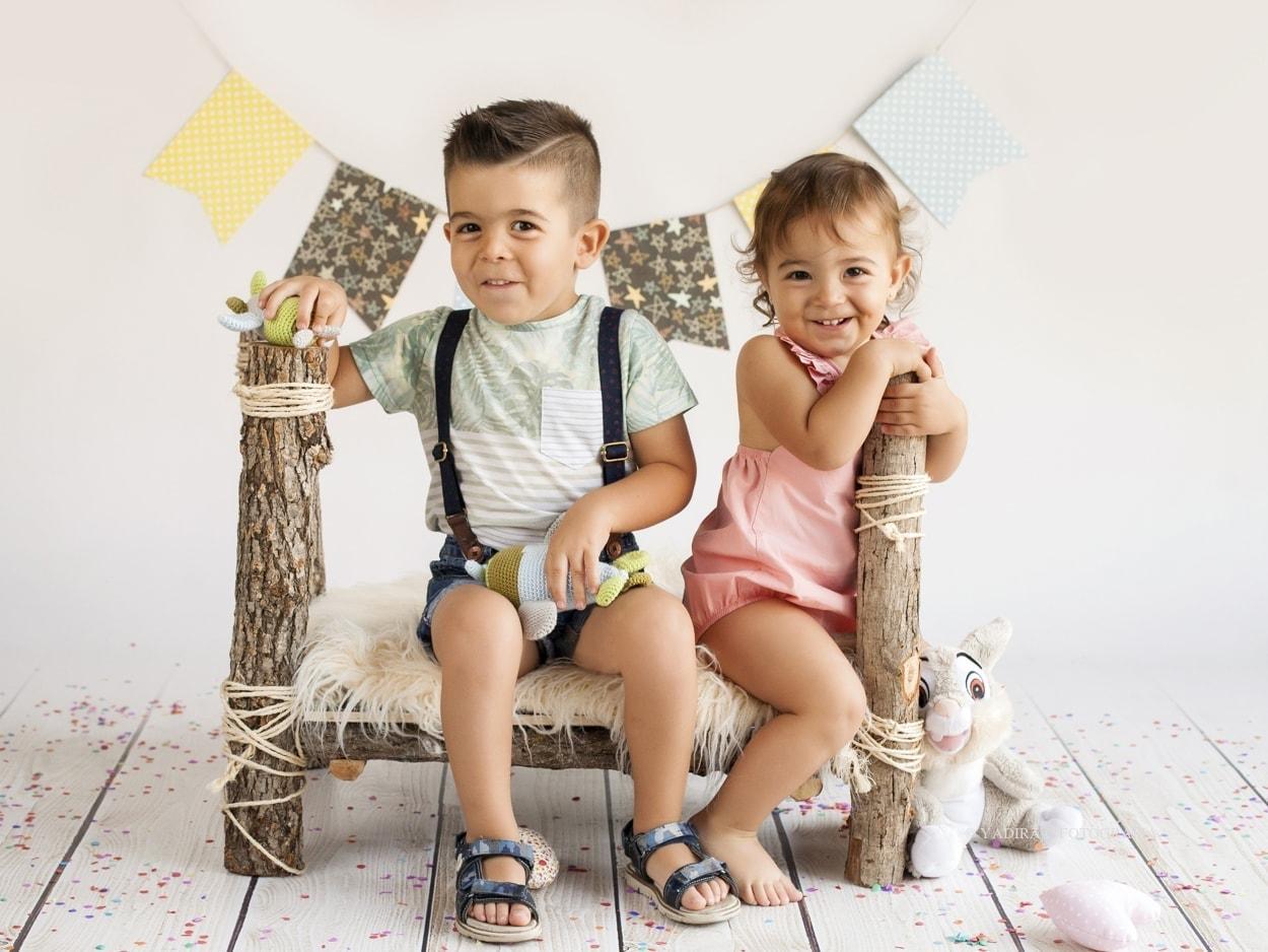 Ian y Abril: fotografia infantil