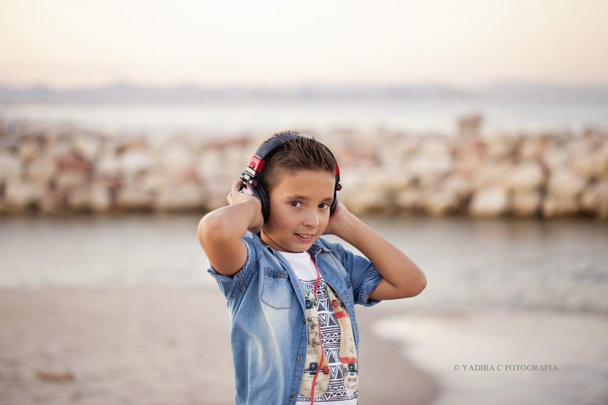 fotografa de primera comunion en estudio y exteriores en torrent valencia