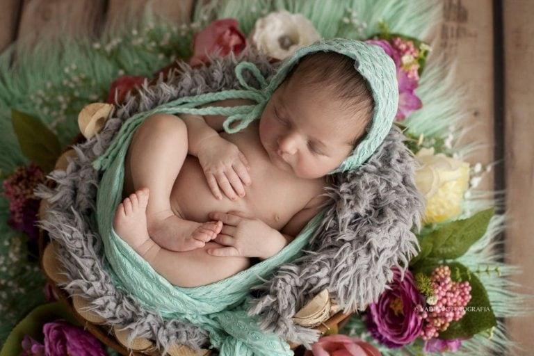 Lucía: Fotografía de bebés en Valencia