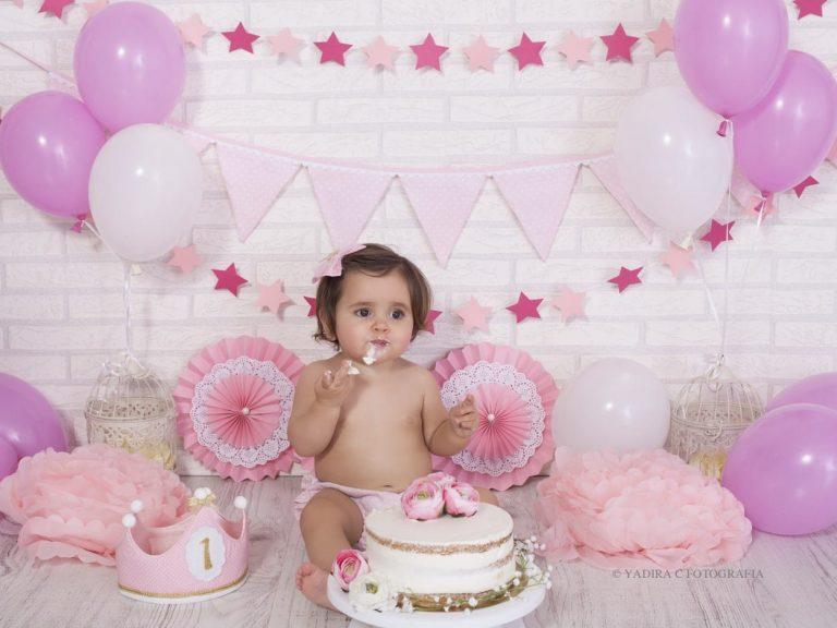 fotografia cumpleaños smash cake torrent valencia
