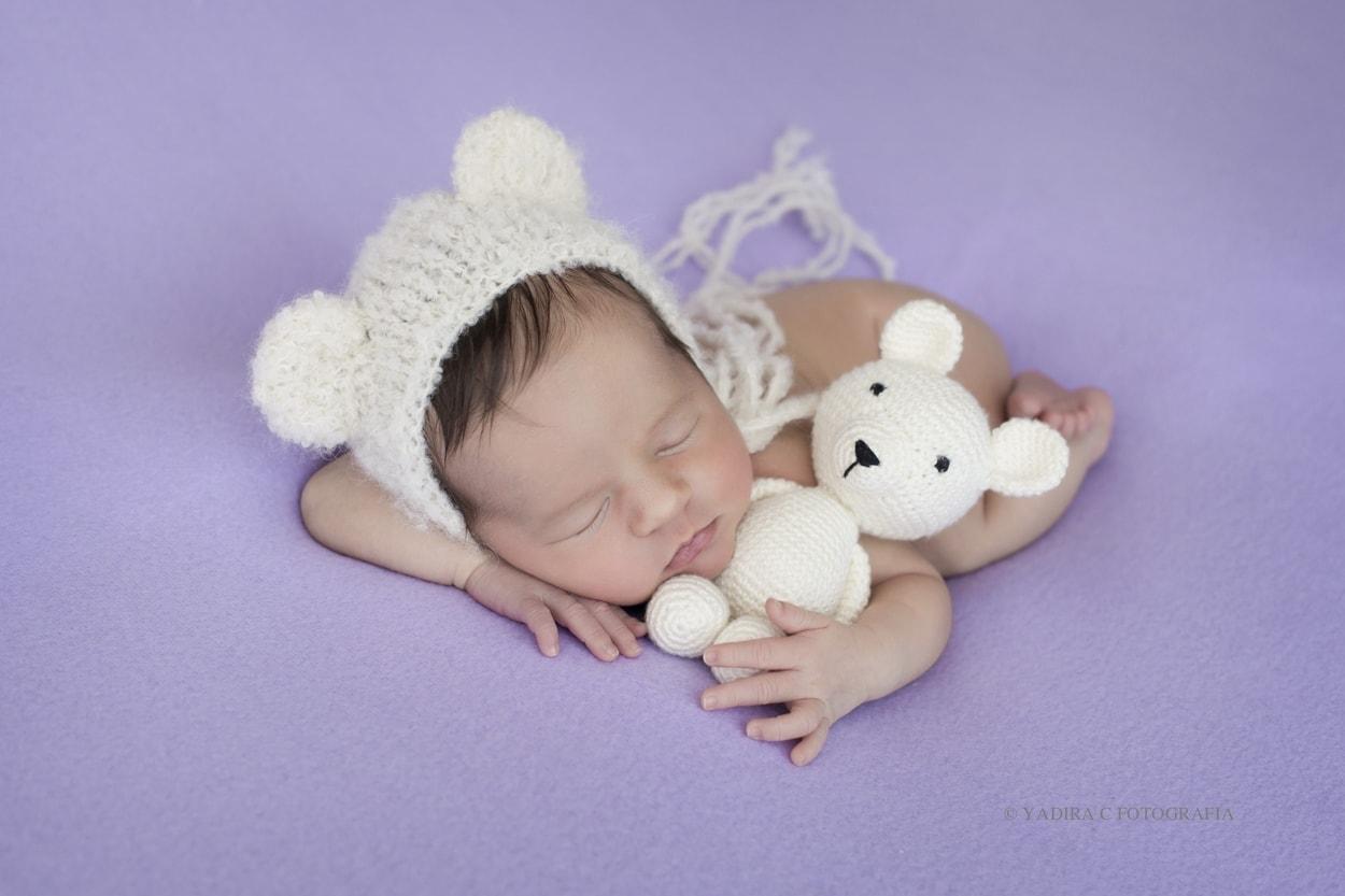Como elegir los colores para una sesión de de fotos newborn