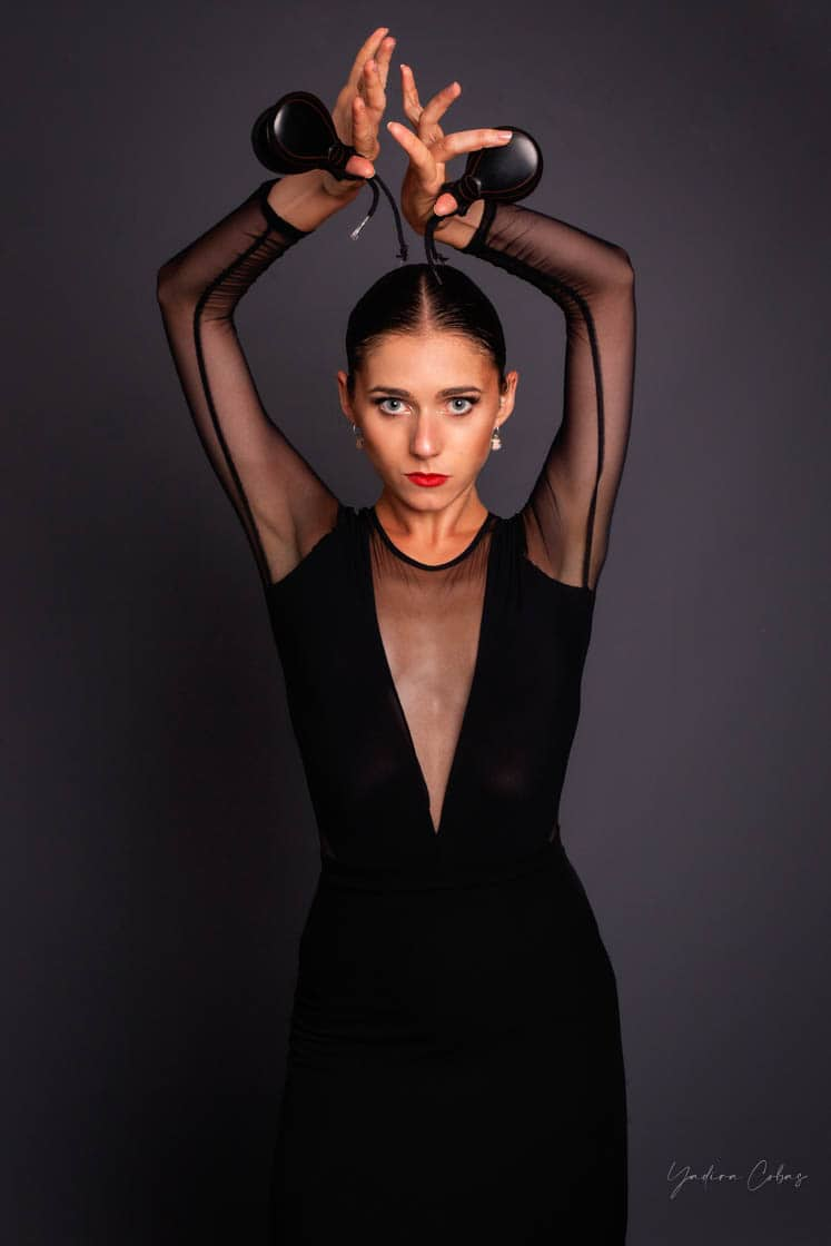 fotos danza española bailarina torrent valencia